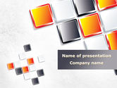 Abstract/Textures: Mosaic Parts PowerPoint Template #08855