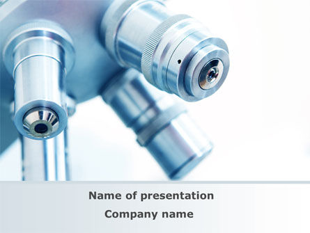Microscope Objectives PowerPoint Template