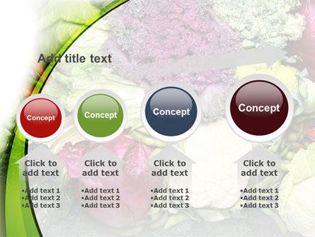 Cabbage PowerPoint Template Slide 13