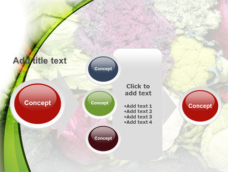 Cabbage PowerPoint Template Slide 17