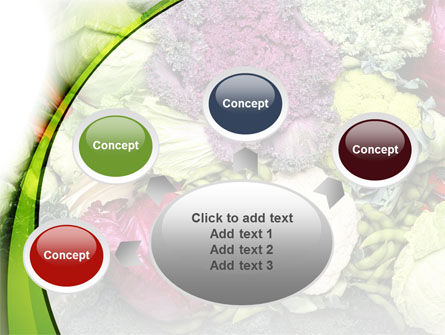 Cabbage PowerPoint Template Slide 7