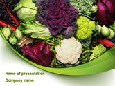 Agriculture: Cabbage PowerPoint Template #08858