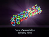 Technology and Science: Free Cell Aggregates PowerPoint Template #08860