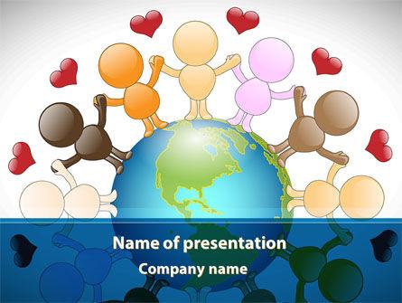 Education & Training: Alles was wir brauchen ist liebe PowerPoint Vorlage #08863