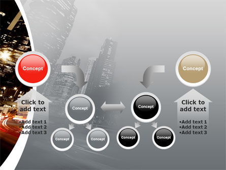 Twilight In The City PowerPoint Template Slide 19
