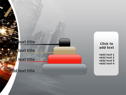 Twilight In The City PowerPoint Template Slide 8