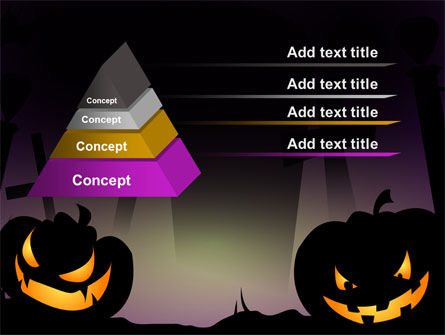 Free Violet Halloween Night PowerPoint Template Slide 10