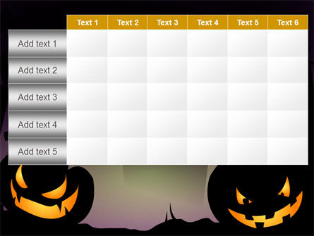 Free Violet Halloween Night PowerPoint Template Slide 15