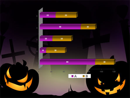 Free Violet Halloween Night PowerPoint Template Slide 17