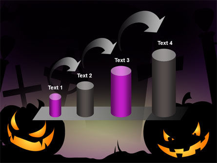 Free Violet Halloween Night PowerPoint Template Slide 7
