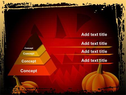 Jack-o-Lantern Free PowerPoint Template Slide 12
