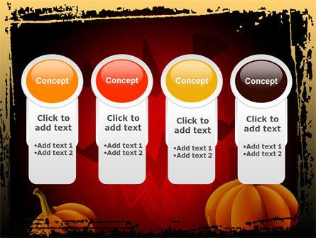 Jack-o-Lantern Free PowerPoint Template Slide 5