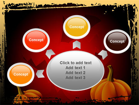 Jack-o-Lantern Free PowerPoint Template Slide 7