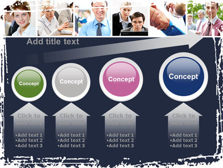 Business Staff PowerPoint Template Slide 13