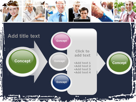 Business Staff PowerPoint Template Slide 17