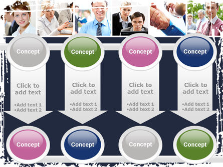 Business Staff PowerPoint Template Slide 18
