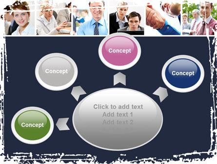Business Staff PowerPoint Template Slide 7