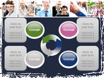 Business Staff PowerPoint Template Slide 9