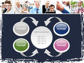 Business Staff PowerPoint Template#6