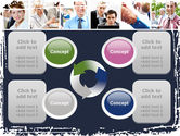 Business Staff PowerPoint Template#9