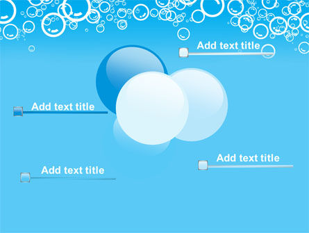 Aqua Bubble PowerPoint Template Slide 10