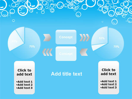 Aqua Bubble PowerPoint Template Slide 11