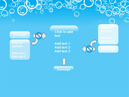 Aqua Bubble PowerPoint Template Slide 13