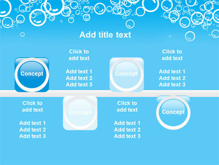 Aqua Bubble PowerPoint Template Slide 19