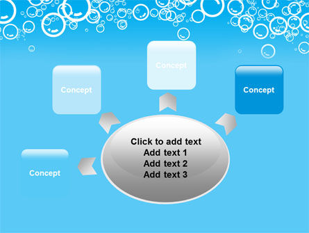 Aqua Bubble PowerPoint Template Slide 7