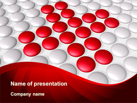 Drug In Tablets PowerPoint Template, 08874, Medical — PoweredTemplate.com