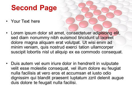 Drug In Tablets PowerPoint Template, Slide 2, 08874, Medical — PoweredTemplate.com