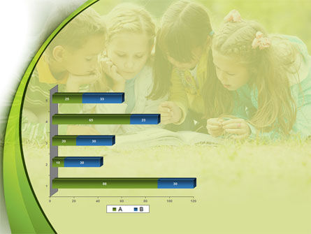 Childrens Reading Book PowerPoint Template Slide 11