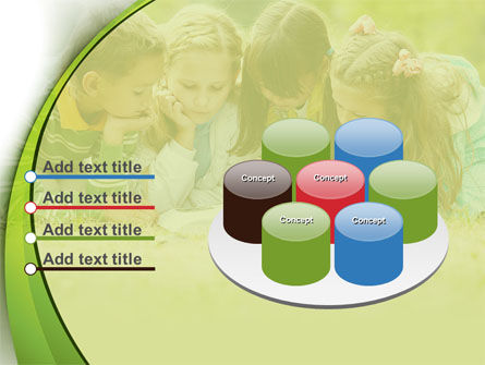 Childrens Reading Book PowerPoint Template Slide 12