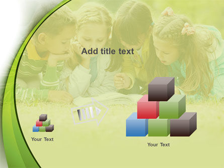 Childrens Reading Book PowerPoint Template Slide 13