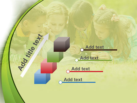 Childrens Reading Book PowerPoint Template Slide 14
