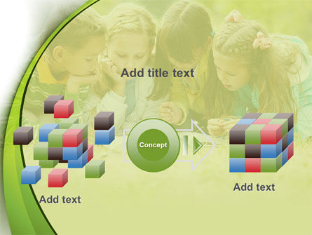 Childrens Reading Book PowerPoint Template Slide 17