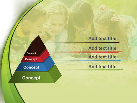 Childrens Reading Book PowerPoint Template Slide 4