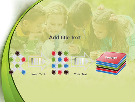 Childrens Reading Book PowerPoint Template Slide 9