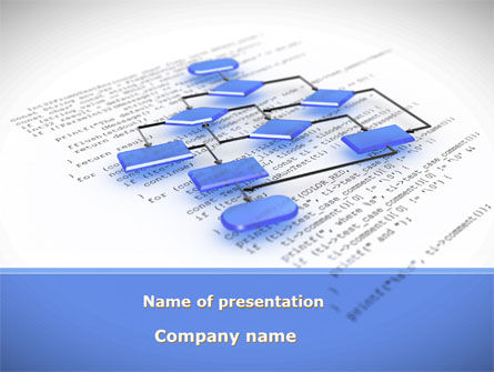 Business: Bossy Flowchart PowerPoint Template #08880