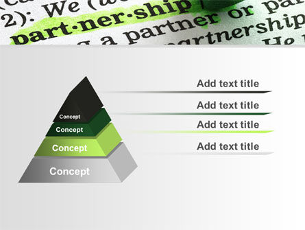 Definition Of Partnership PowerPoint Template Slide 12