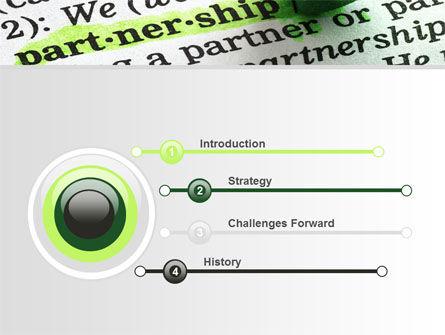 Definition Of Partnership PowerPoint Template, Slide 3, 08881, Business — PoweredTemplate.com