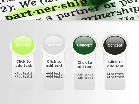 Definition Of Partnership PowerPoint Template Slide 5