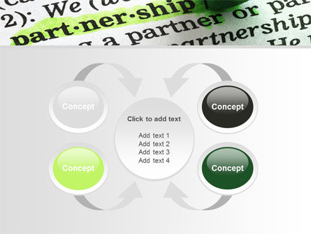 Definition Of Partnership PowerPoint Template Slide 6