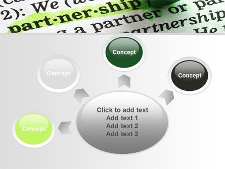 Definition Of Partnership PowerPoint Template Slide 7