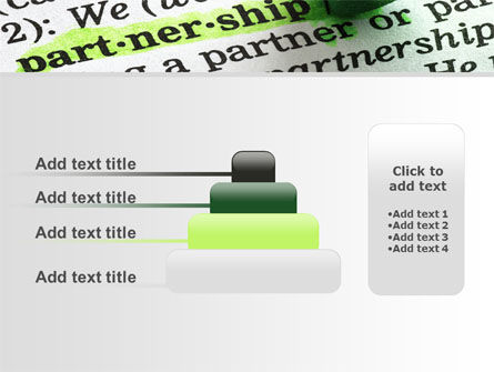 Definition Of Partnership PowerPoint Template Slide 8