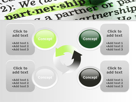 Definition Of Partnership PowerPoint Template Slide 9