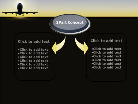 Jet Airliner PowerPoint Template Slide 4