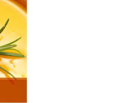 Cream Soup PowerPoint Template, Slide 3, 08886, Food & Beverage — PoweredTemplate.com