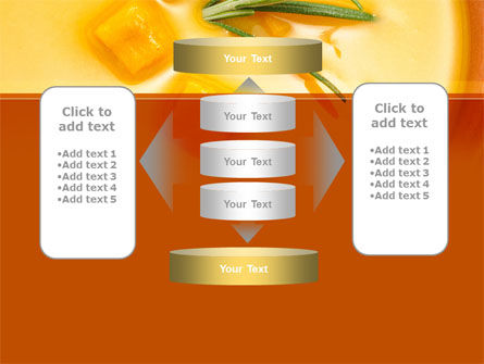 Cream Soup PowerPoint Template Slide 13