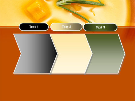 Cream Soup PowerPoint Template Slide 16